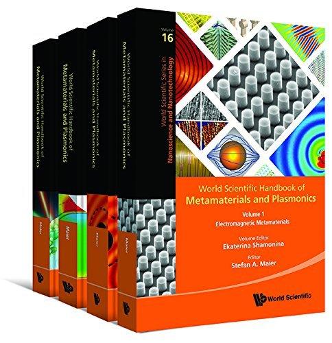 World Scientific Handbook Of Metamaterials And Plasmonics 4 Volumes Set