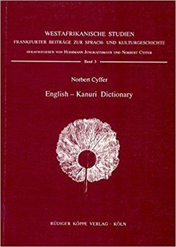 English-Kanuri Dictionary