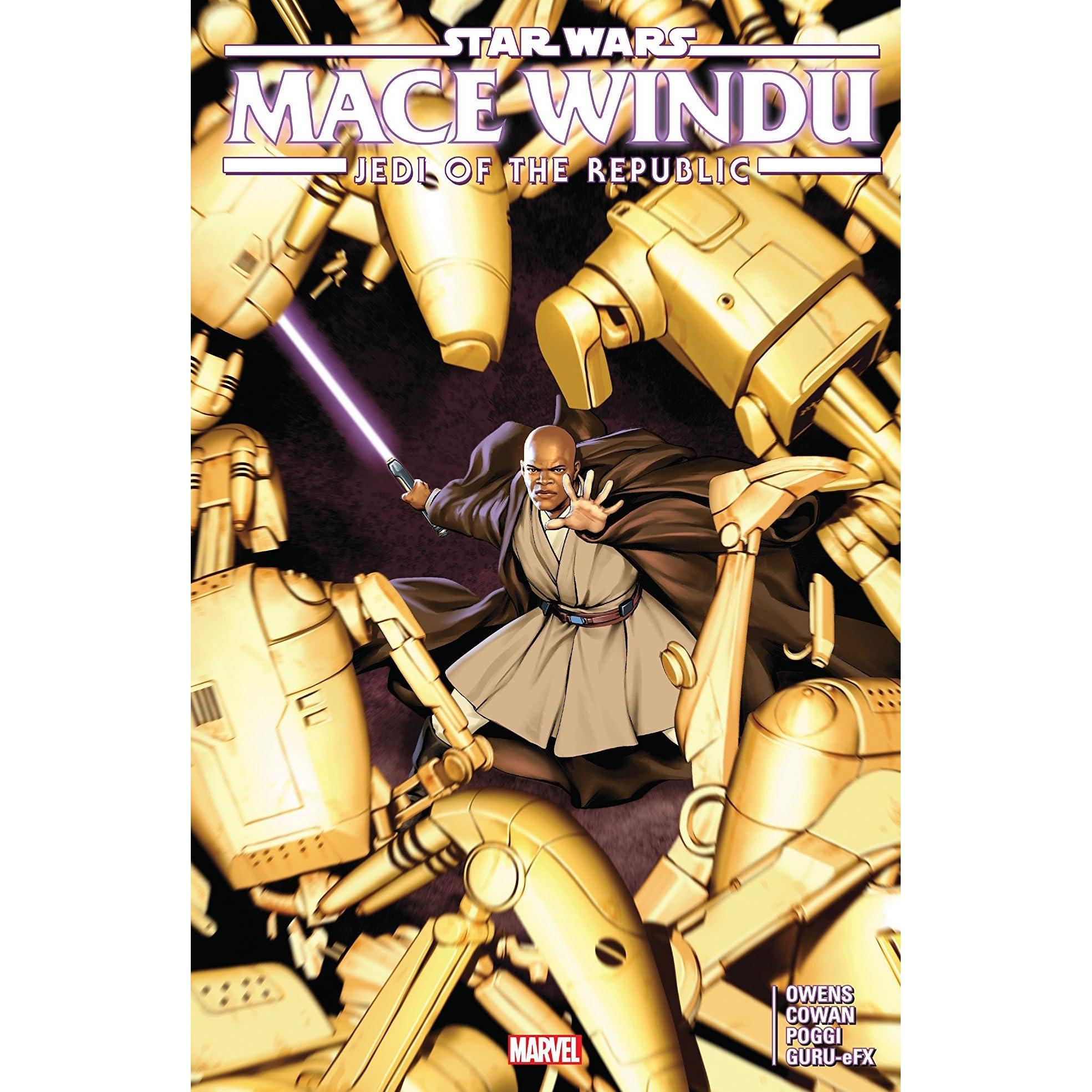 Star Wars Jedi Of The Republic Mace Windu By Matt Owens