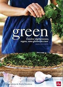 Green : cuisine végétarienne, sans gluten, souvent vegan, parfois crue