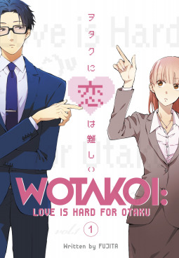 Wotakoi: Love is Hard for Otaku, Vol 1