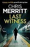 Last Witness (Detective Zac Boateng #2)
