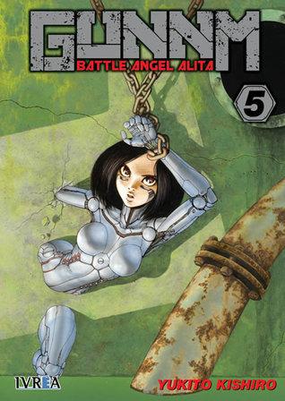 Gunnm - Battle Angel Alita, tomo 5 by Yukito Kishiro