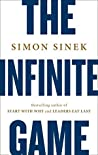 Book cover for The Infinite Game: How Great Businesses Achieve Long-lasting Success