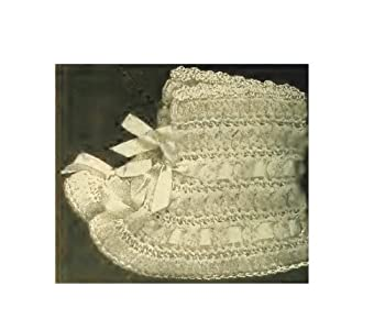 Infant's Bootees - Vintage Crochet Pattern [Annotated]