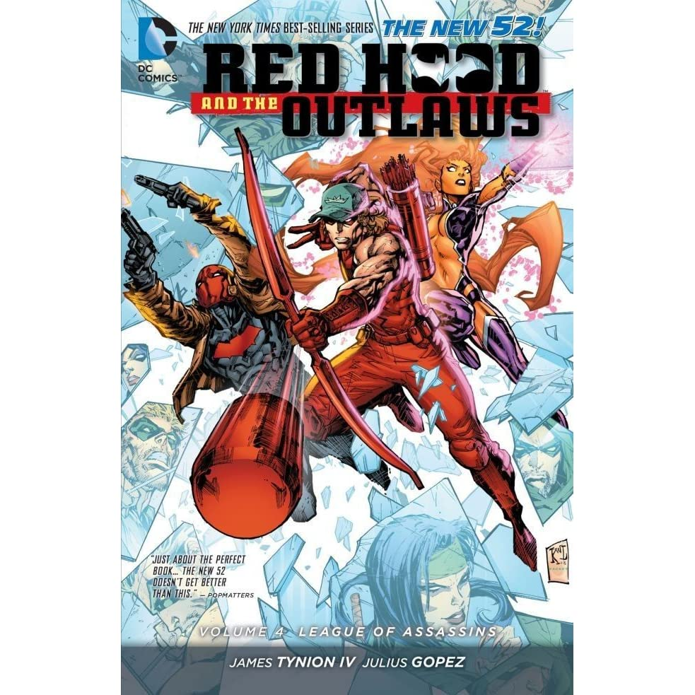 Red Hood and the Outlaws, Volume 4: League of Assasins by James