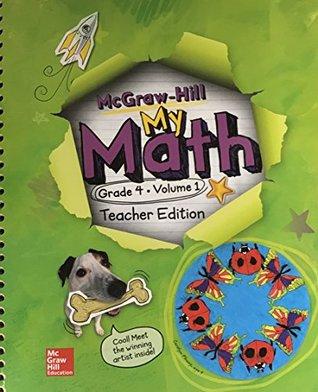 McGraw-Hill My Math Teacher Edition Grade 4 Volume 1