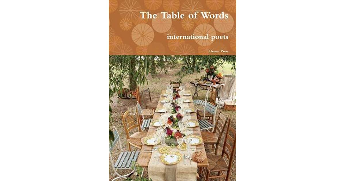 The Table of Words by International Poets