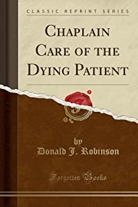 Chaplain Care of the Dying Patient