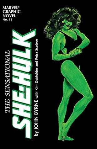 Marvel Graphic Novel #18 The Sensational She-Hulk