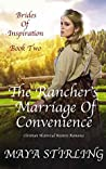The Rancher's Marriage of Convenience (Brides of Inspiration #2)