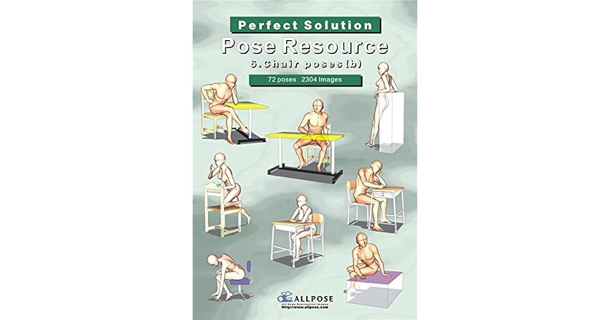 Manga Pose Resource Book