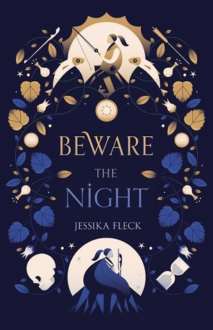 "Cover of Jessika Fleck's ""Beware the Night"""