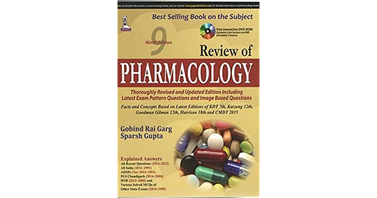 Sparsh Gupta Pharmacology Ebook