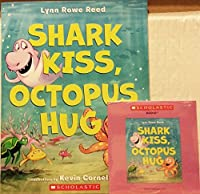 Shark Kiss, Octopus Hug (Paperback and Audio CD)