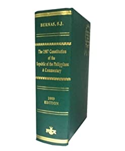 The 1987 Constitution of the Philippines - A Commentary