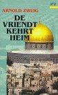 De Vriendt kehrt heim by Arnold Zweig