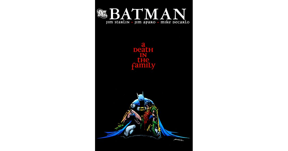 Batman a death in the family by jim starlin fandeluxe Images