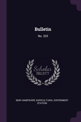 Bulletin: No. 333