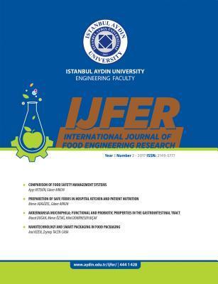 International Journal Of Food Engineering Research Istanbul Aydin University Engineering Faculty By Guner Arkun