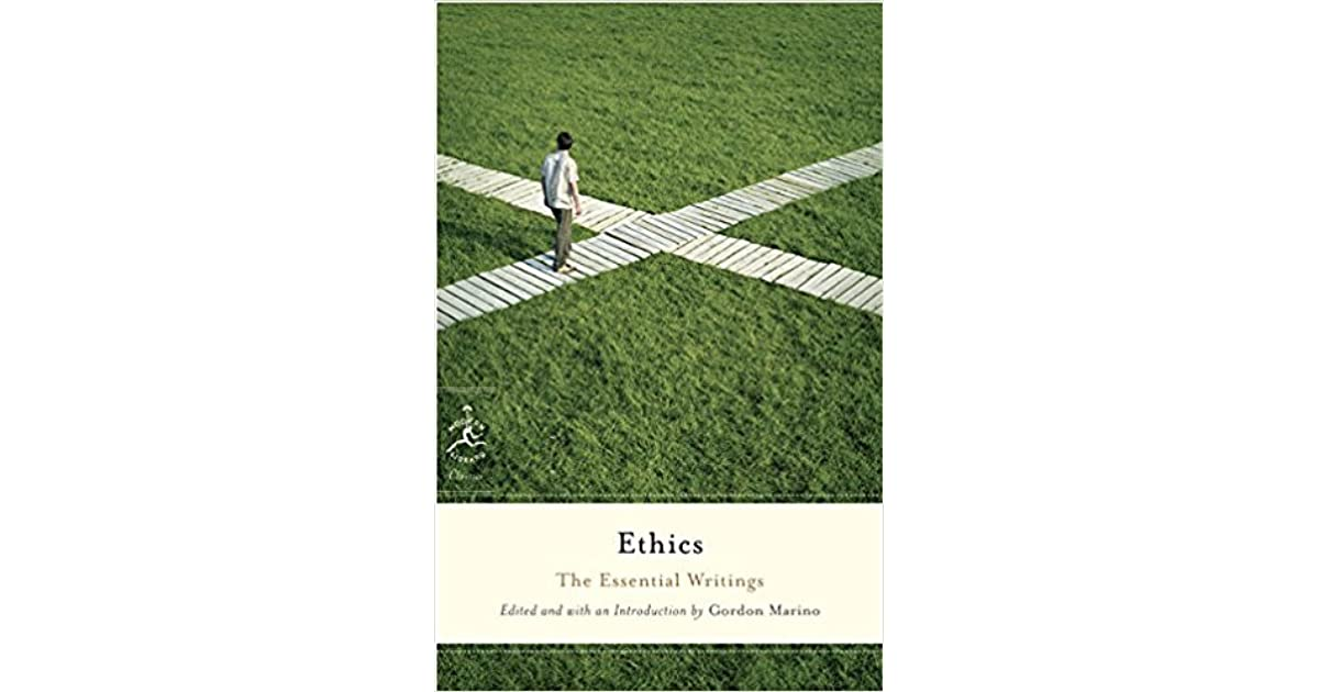 Ethics the essential writings by gordon marino fandeluxe Images