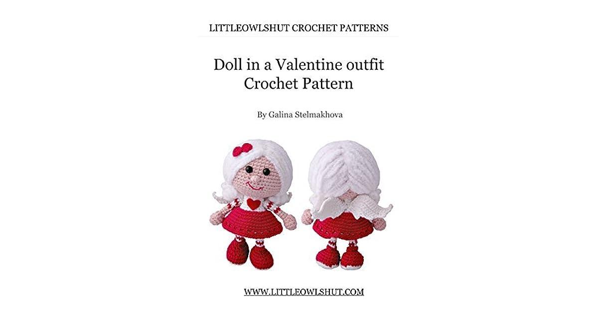 Valentine Crochet Teddy Bear | AllFreeCrochet.com | 630x1200