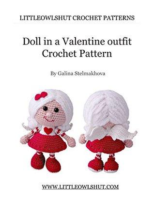 Amazon.com: Dress Up Dolls Amigurumi Crochet Patterns: 5 big dolls ... | 415x318