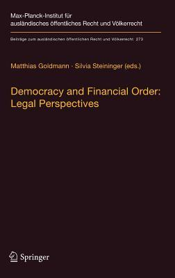 Democracy and Financial Order Legal Perspectives