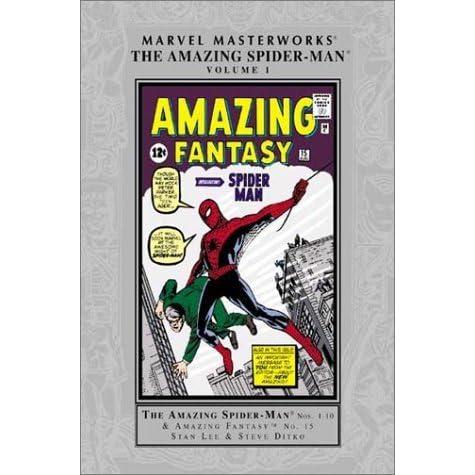 4015f820 Marvel Masterworks: The Amazing Spider-Man, Vol. 1 by Stan Lee