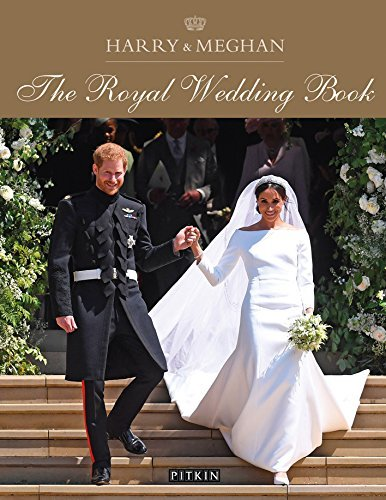 Book cover Harry & Meghan The Royal Wedding Book