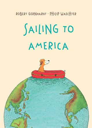 Sailing To America By Robert Gernhardt