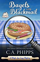 Bagels and Blackmail  (Maple Lane Cozy Mystery #2)