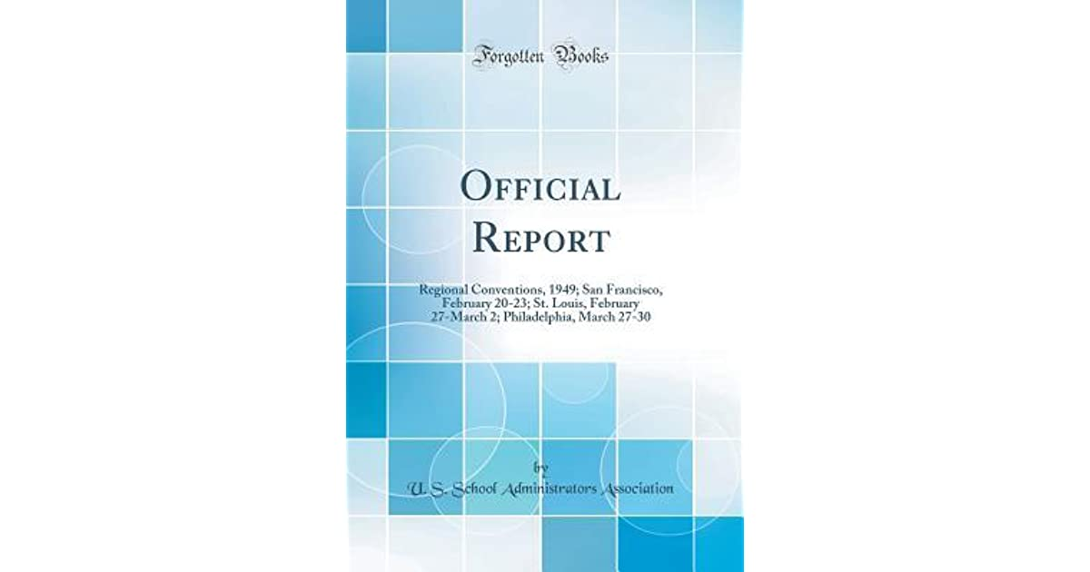 Official Report: Regional Conventions, 1949