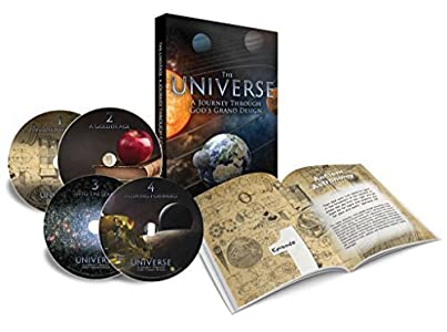 The Universe: A Journey Through God's Grand Design (4 Episode DVD Series) (English, Spanish, Chinese and Korean Edition)
