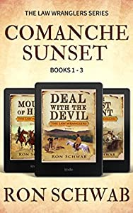 Comanche Sunset: Western Box Set (The Law Wranglers, # 1-3)