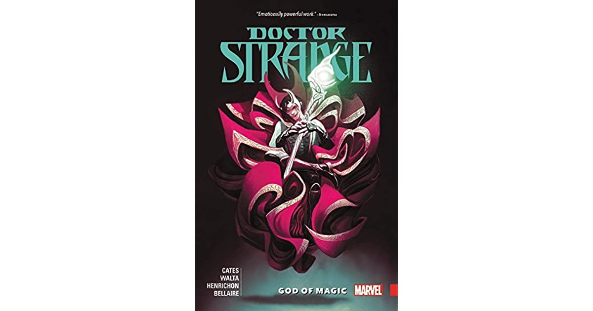 Doctor Strange by Donny Cates, Vol  1: God of Magic by Donny Cates