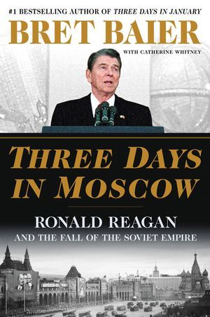book cover for Three Days in Moscow