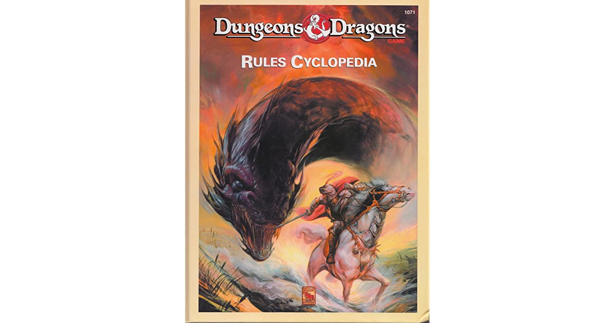 Jerry Strattons Review Of Dungeons Dragons Rules Cyclopedia