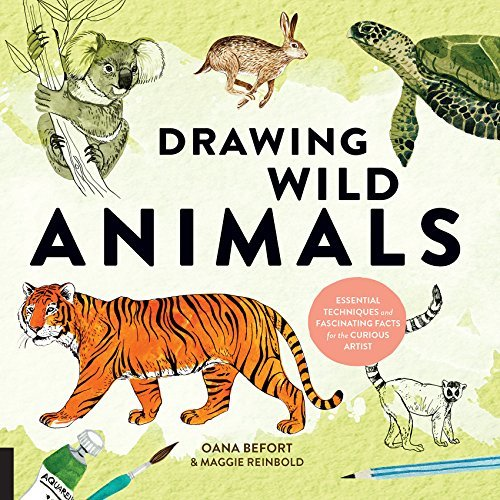 Drawing Wild Animals Essential Techniques and Fascinating Facts for the Curious Artist