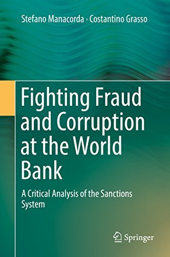 Fighting Fraud and Corruption at the World Bank A Critical Analysis of the Sanctions System