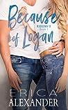 Because of Logan (Riggins U, #1)