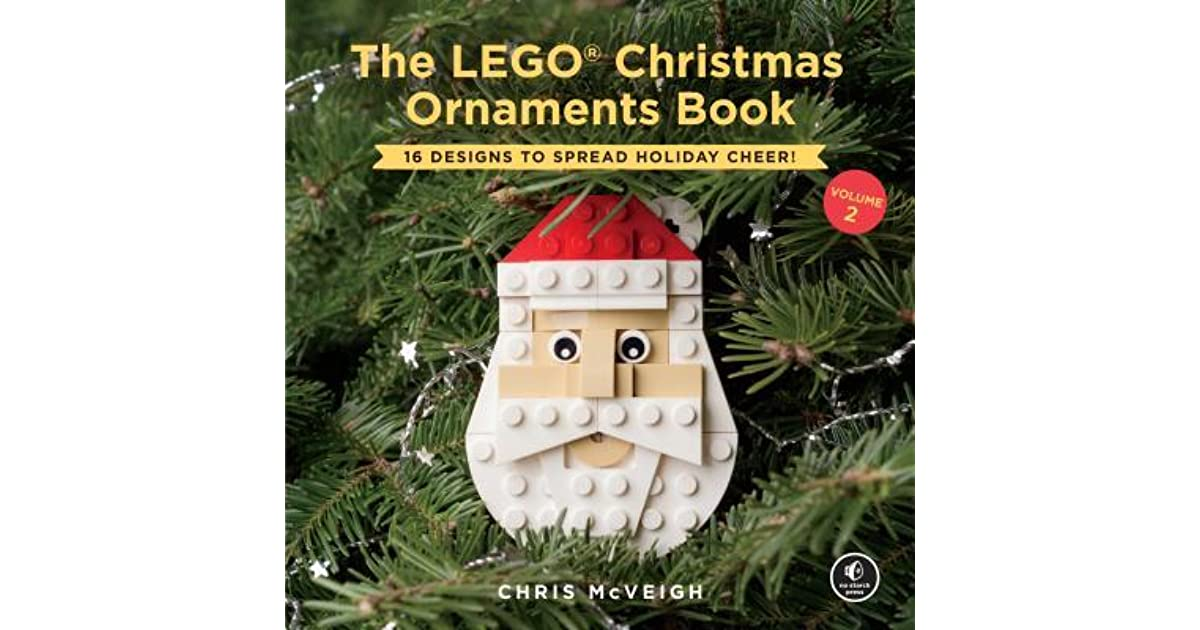 Lego Christmas Ornaments.The Lego Christmas Ornaments Book Volume 2 16 Designs To