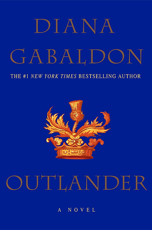 "Cover of Diana Gabaldon's ""Outlander"""