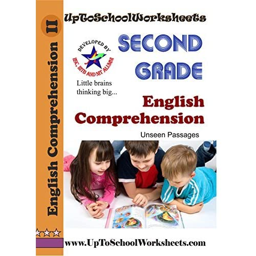 Grade 2 English Comprehension Worksheets : Unseen Passages By  UpToSchoolWorksheets