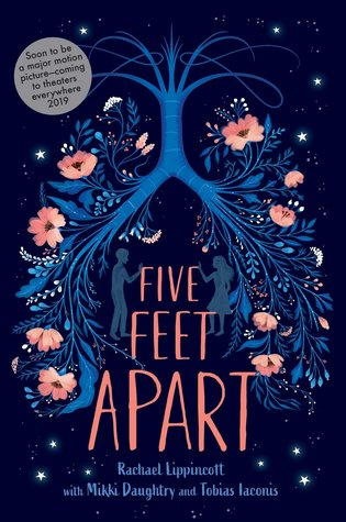 "Cover of Rachael Lippincott's ""Five Feet Apart"""