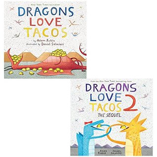 Dragons love tacos collection 2 books set by adam rubin