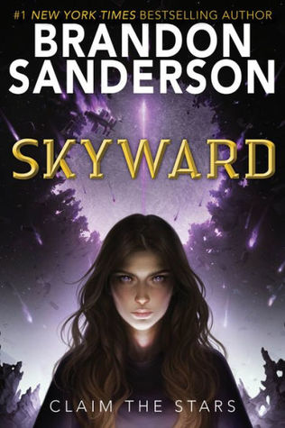 book cover for Skyward by Brandon Sanderson
