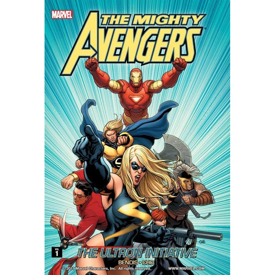 1 NEW Marvel Graphic Novel Comic Book Mighty Avengers The Ultron Initiative Vol