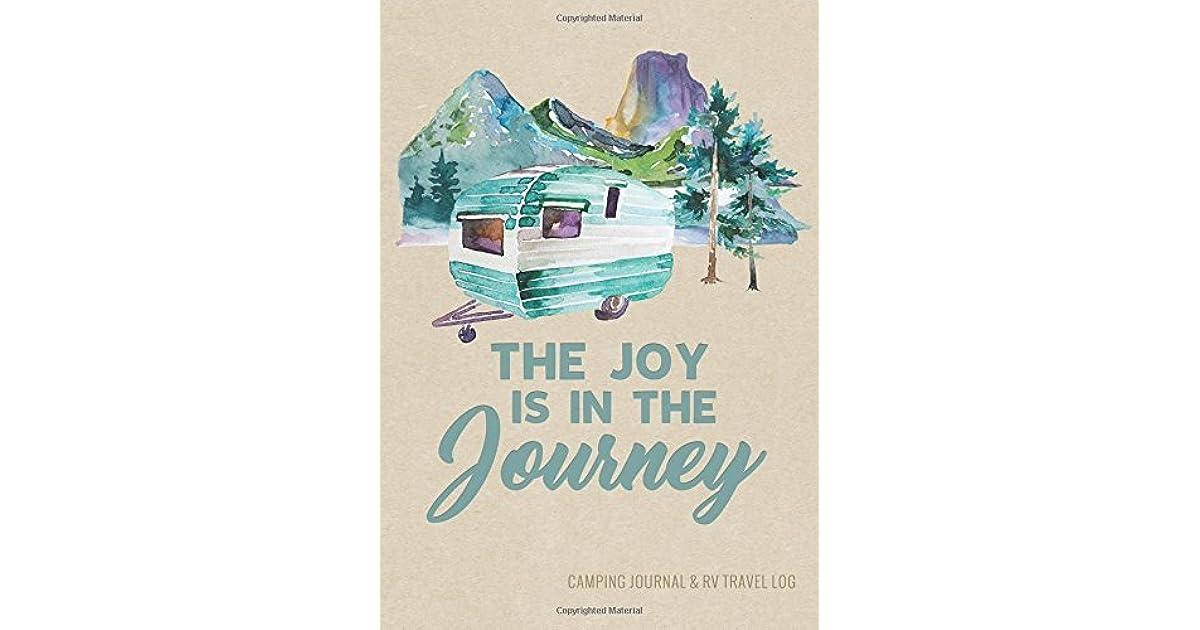 RV Travel Journal /& Logbook Enjoy the Journey