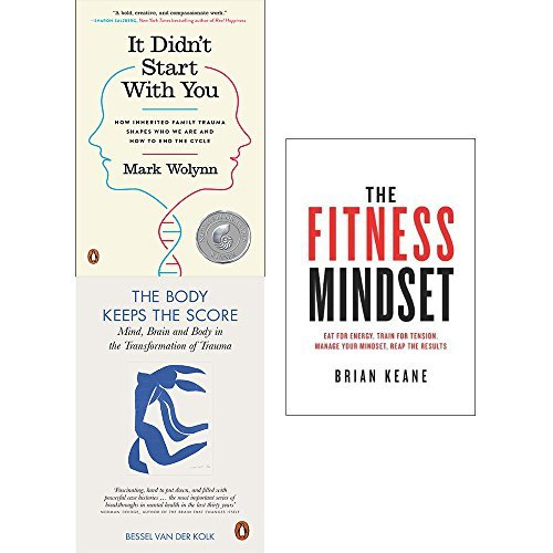 It didnt start with you, body keeps the score and fitness mindset 3 books collection set